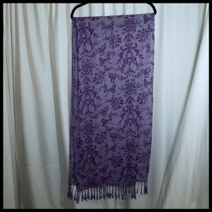 🎁3 for $10 Long Lightweight Purple Scarf